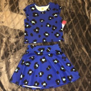 Girl's two piece matching set